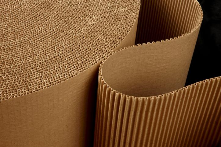 Flexo Carton Printing - Cardboard Substrate Roll